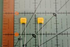 "SAN FERNANDO RADIAL CERAMIC CAPACITOR .01uF 100v 5% NPO C0G .2"" 5mm L/S 25pcs"