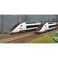 """JOUEF HO 1:87 TGV Duplex livrea """"inOui"""" Confezione 4 elementi"""
