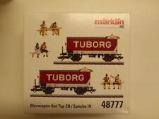 MÄRKLIN 48777 Bierwagen-Set Tuborg Ol DSB NEUWARE