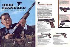 High Standard 1968 Firearms Catalog