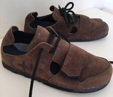 OeTZI 3300 Unisex Zapatos para Hombre UK 9 para Mujeres con cordones UK 9.5 ante marrón sin usar raro