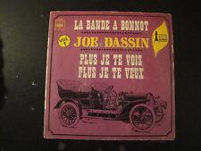 Vinyle 45 Tours - Joe Dassin - La Bande à Bonnot