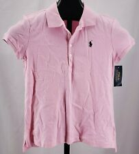 Nwt Polo Ralph Lauren School Uniform Polo Shirt Carmel Pink Girl's Sz 16 Xl $35