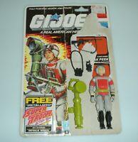 1987 GI Joe Sneak Peek Advanced Recon v1 Figure w/ File Card Back *Near Complete