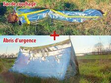 Set complet sac de couchage + Tente de survie - SEMPTEC