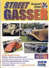STREET GASSER AUGUST 2000-NSRA HOT ROD V8 MAG-NATIONAL STREET ROD ASSOCIATION