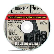 History of Photography, 214 Antique How To Books, Camera Catalogs, PDF DVD E68