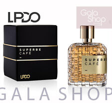 LPDO SUPERBE CAFE EAU DE PARFUM INTENSE 100ML EDP PROFUMO UOMO MEN HIM HOMME