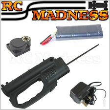 RC Car Nitro Engine Electric ROTO DRILL Starter Battery Charger Acme HSP 18 SH
