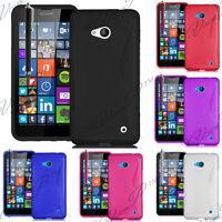 Accessoire Etui Housse Coque Silicone Gel TPU S-line Seri Microsoft Nokia Lumia