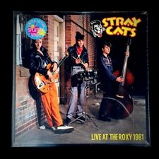 STRAY CATS LIVE AT THE ROXY 1981 Splatter Vinyl LP Setzer Slim Jim Rocker Strut