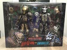Neca Predator 7? Scale Dark Horse Comics Ultimate Bad Blood Vs Enforcer 2-pack