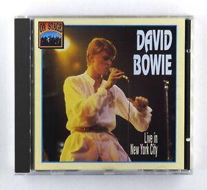 David Bowie - Live In New York City (Nassau Coliseum, 1976) - CD Album -CD 12009