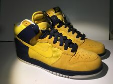 online store cf7e0 14dbd 2008 Nike Dunk High Cal Bears Michigan Size 10