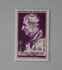 France année 1948 YT 793 Neuf luxe ** entraide française Louis Braille