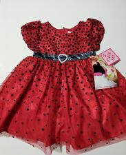 Fancy baby infant girl 2 piece  party dress Nannette 12 months