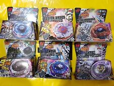 6pcs 4D RAPIDITY Beyblade metal fusion with launchers Very Popular