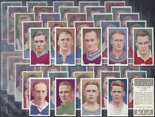PHILLIPS-FULL SET- FAMOUS FOOTBALL ERS (50 CARDS) - EXC+++