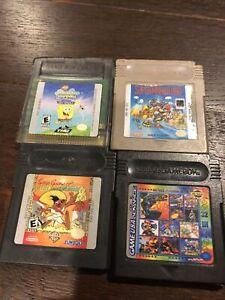 Lot Of 4 - Includes Super Mario Land Nintendo Original GameBoy Game