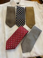 Brooks Brothers Silk Ties Made in the USA - 5 Ties