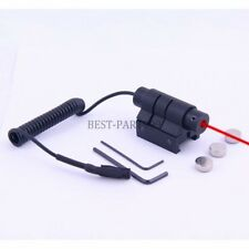 Tactical Compact Pistol Gun Picatinny Rail Red Laser Sight for Taurus 24/7