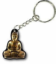 Keychain key ring keyring car motorcycle housse buddha buddhist ohm amulet