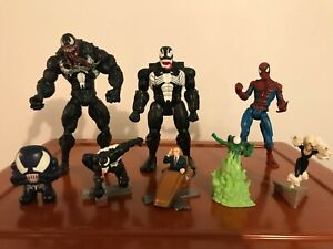 Lot de 8 Action Figures Marvel Legends Spider-Man Shape Shifters VENOM Toy Biz