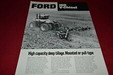 Ford Tractor 160 V Chisel Dealers Brochure DCPA8