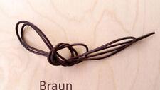 Braune Drähte, lederbänder zur Schmuckherstellung 2 mm