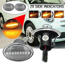 Dynamic LED Side Marker Indicator Repeater Light Lamp Fit for Fiat 500 Ford KA