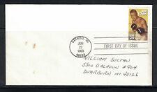 US 1993: #2766 Joe Louis Boxing SA FDC - Lot#4/3