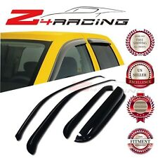 For 99-07 Chevrolet Silverado Extended Vent Shade Guard Window Visors Deflector