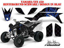 AMR RACING DEKOR GRAPHIC KIT ATV YAMAHA YFZ 450, YFZ 450R SILVERSTAR RELOADED B