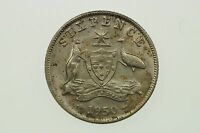 1950 Sixpence George VI in Almost Uncirculated Condition