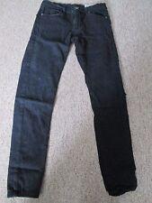 DENIM & Co - BLACK, SUPER SKINNY, Denim Jeans with ZIP fly 30/30