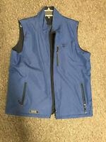 Izod PerformX Mens Large Blue Vest Reversible All Weather