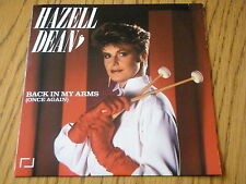 """HAZELL DEAN - BACK IN MY ARMS (ONCE AGAIN)  7"""" VINYL PS"""