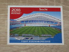 "Image Sticker PANINI #18 ""STADE - STADIUM : SOCHI"" World Cup Russia 2018"