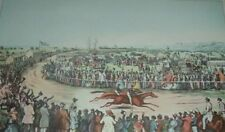 Horse Racing Won by PEYTONA AND FASHION CHARLES SEVERIN Currier & Ives Print