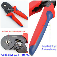 Cimpzange 6-6A Hexagonal Car Terminal Plier 0.25 - 6.0mm² Aderendhülsen Ratchet