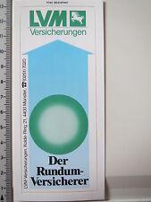 Aufkleber Sticker LVM Rundum Versicherer (3916)