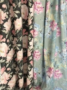 Laura Ashley MTM Curtains. Wisely Cosmos Parterre Baroque Wisely Peonies + more