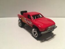Hot Wheels CUSTOM W/REAL RIDERS Red Toyota Off Road Truck