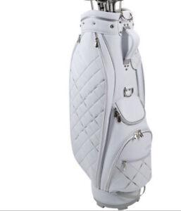 2020 NEW XXIO WOMENS CART BAG WHITE