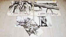 MACISTE CONTRE LES MONGOLS ! mark forest photos cinema + photos presse 1963