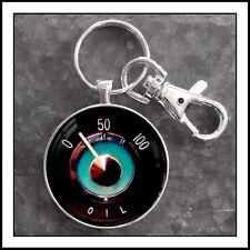 Vintage Volvo P1800 Oil Pressure Gauge Photo Keychain Gift 🚘