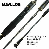 Slow Jigging Fishing Rod C.W. 30-200g/80-300g Ultra Light High Carbon Spinning