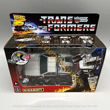 Transformers Generations Collaborative Back to the Future 35 Edition Gigawatt