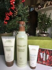 AVEDA ROSEMARY & MINT GIFT SET-Hand And Body Wash , Body Lotion & Hand Relief