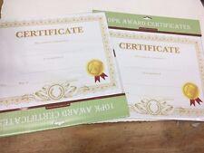 "Award Certificates 11"" x 8.5"" Pack of 10, PK2 (X80063-2*A)"